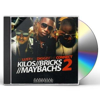 Rick Ross KILOS BRICKS MAYBACHS 2 CD