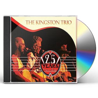 Kingston Trio 25 YEARS NONSTOP CD