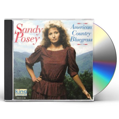 Sandy Posey AMERICAN COUNTRY BLUEGRASS CD