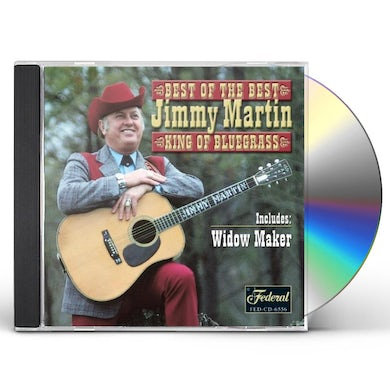 Jimmy Martin BEST OF THE BEST CD