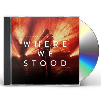 The Pineapple Thief WHERE WE STOOD CD