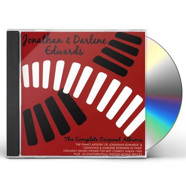 Jonathan Edwards & Darlene COMPLETE ORIGINAL ALBUMS CD