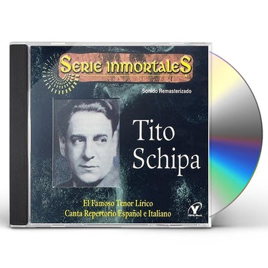 Tito Schipa FAMOSO TENOE LIRICO CANTA REPERTORIO ESPANOL E CD