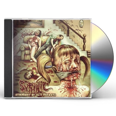 SYMPHONY OF SLIT THROATS CD