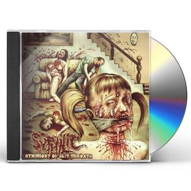 Syphilic SYMPHONY OF SLIT THROATS CD