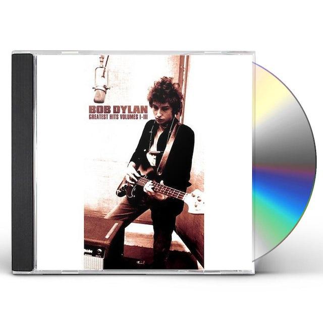 Bob Dylan GREATEST HITS 1 2 & 3 CD