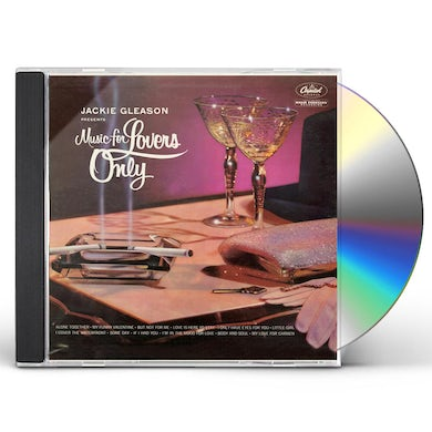 Jackie Gleason MUSIC FOR LOVERS ONLY CD