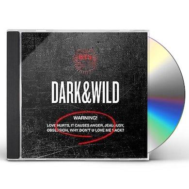 BTS DARK & WILD CD