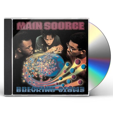 Main Source BREAKING ATOMS - THE REMASTER CD