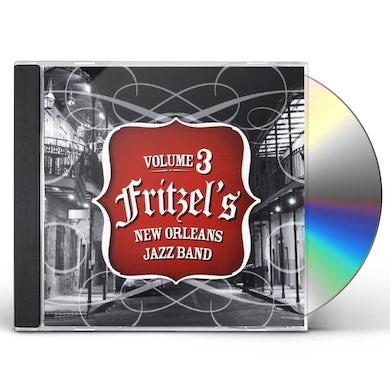 Fritzel's New Orleans Jazz Band VOLUME 3 CD