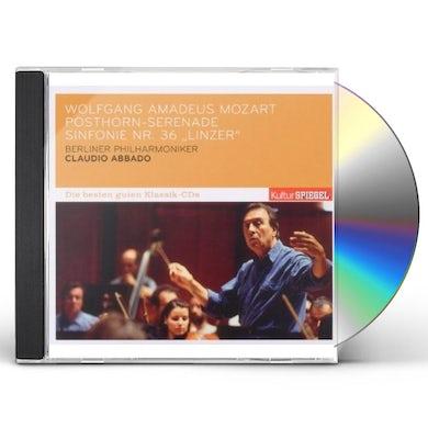 W.A. Mozart POSTHORN-SERENDADE/SINFON/ABBADO CLAUDIO/KULTUR SP CD