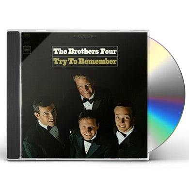 Brothers Four TRY TO REMEMBER CD