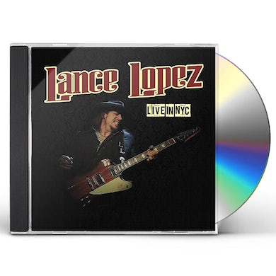 Lance Lopez LIVE IN NYC CD