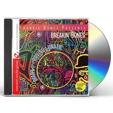 Frankie Bones DIARY OF A RAVING LUNATIC CD