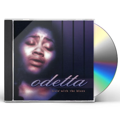 Odetta LIVIN WITH THE BLUES CD