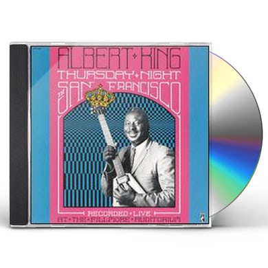 Albert King THURSDAY NIGHT IN SAN FRANCISCO CD