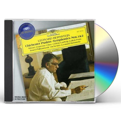 Leonard Bernstein CHICHESTER PSALMS / SYMPHONY 1 & 2 CD