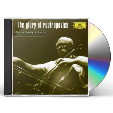 Mstislav Rostropovich GLORY OF ROSTROPOVICH: 20TH BIRTHDAY TRIBUTE CD