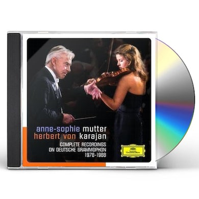 Anne-Sophie Mutter COMPLETE RECORDINGS ON DEURSCHE GRAMMOPHON CD