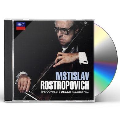 Mstislav Rostropovich COMPLETE DECCA RECORDINGS CD