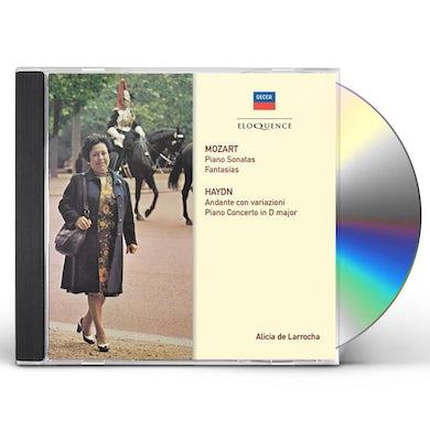 Alicia de Larrocha MOZART: PIANO SONATAS CD