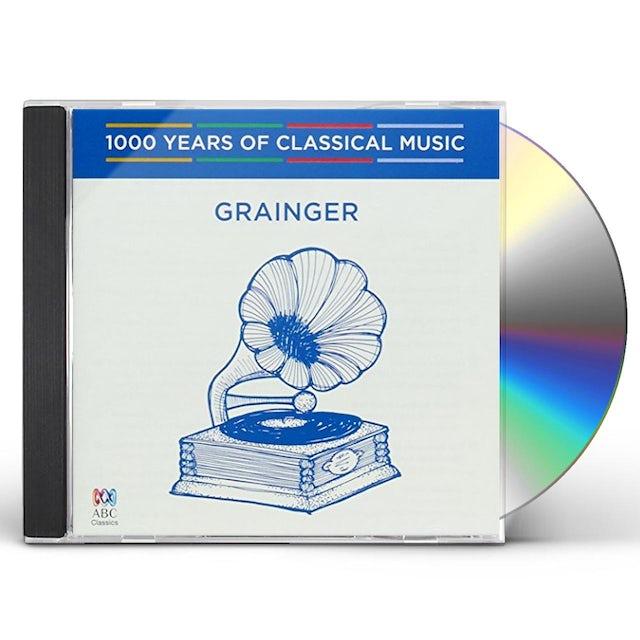 Percy Grainger GRAINGER: 1000 YEARS OF CLASSICAL MUSIC 83 CD