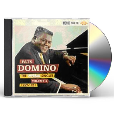 Fats Domino IMPERIAL SINGLES 4 CD