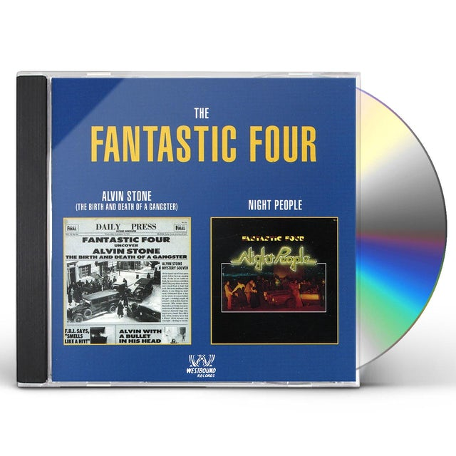 Fantastic Four ALVIN STONE / NIGHT PEOPLE CD