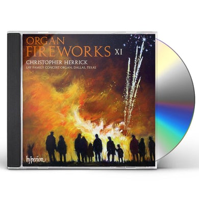 Christopher Herrick ORGAN FIREWORKS 11 CD
