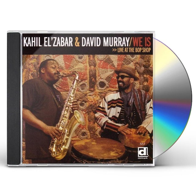Kahil El'Zabar / David Murray WE IS LIVE AT THE BOP SHOP CD