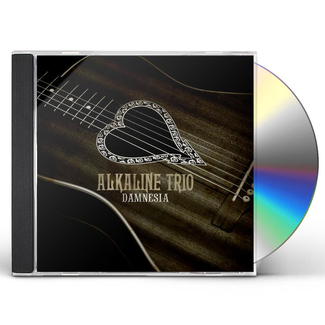 Alkaline Trio DAMNESIA CD