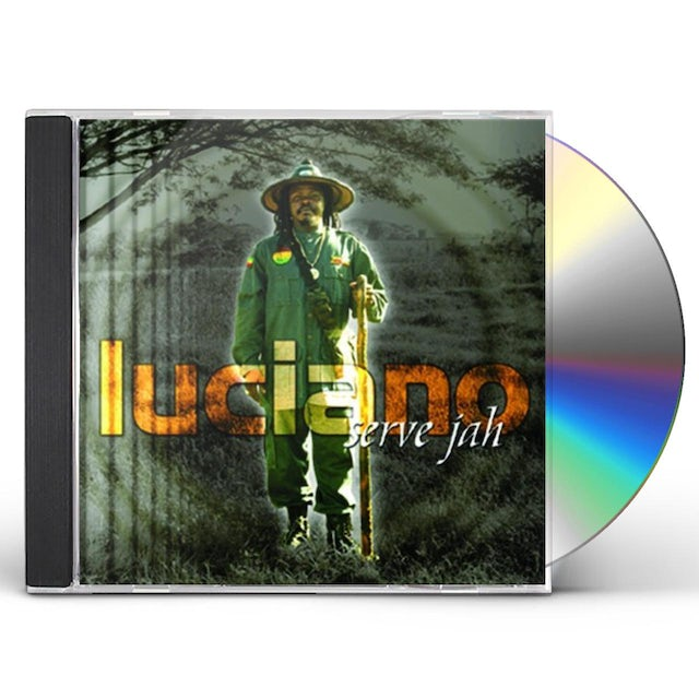 Luciano SERVE JAH CD