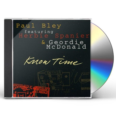 Paul Bley KNOW TIME CD