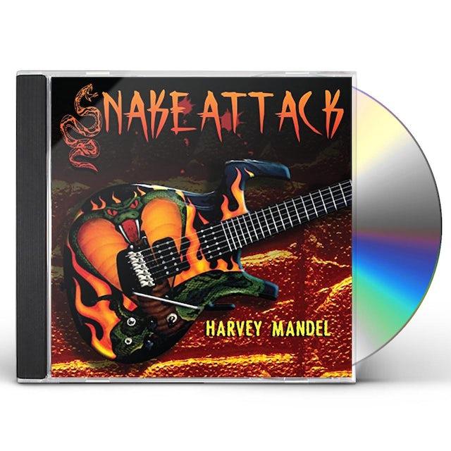 Harvey Mandel SNAKE ATTACK CD