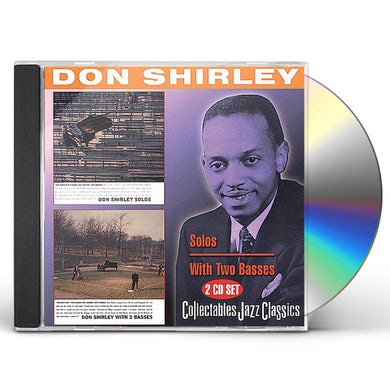 Don Shirley SOLOS / WITH 2 BASSES CD