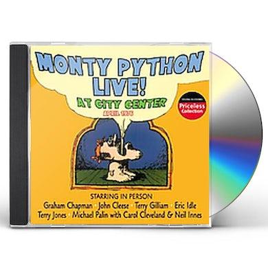Monty Python LIVE AT CITY CENTER CD