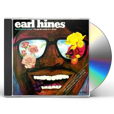 Earl Hines LIVE AT THE NEW SCHOOL CD