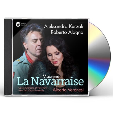 Roberto Alagna Massenet La Navarraise CD