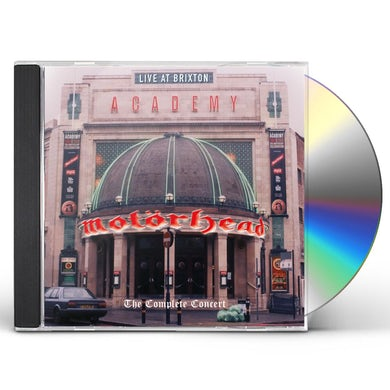 Motorhead LIVE AT BRIXTON ACADEMY CD