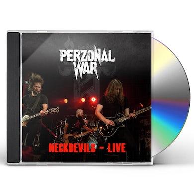 PERZONAL WAR NECKDEVILS - LIVE CD