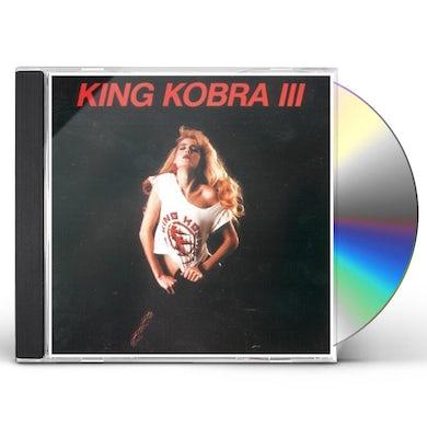 KING KOBRA III CD