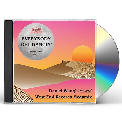 DANIEL WANG'S PERSONAL WEST END MEGAMIX CD