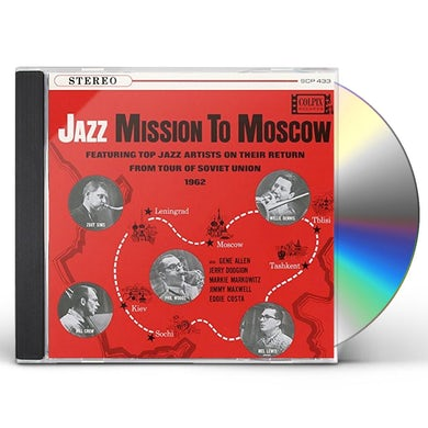 Zoot Sims JAZZ MISSION TO MOSCOW CD