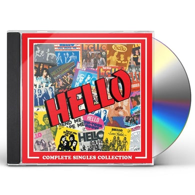 Hello COMPLETE SINGLES COLLECTION CD