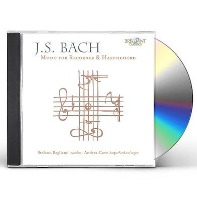 J.S. Bach RECORDER & HARPSICHORD CD