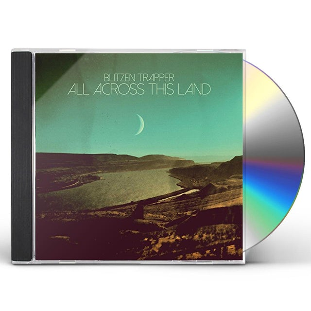 Blitzen Trapper ALL ACROSS THIS LAND CD