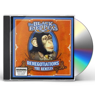 The Black Eyed Peas RENEGOTIATIONS: THE REMIXES CD