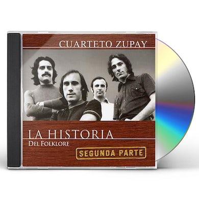 Cuarteto Zupay HISTORIA DEL FOLKLORE CD