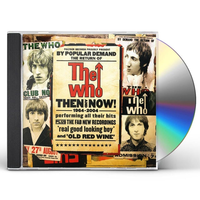 The Who THEN & NOW CD
