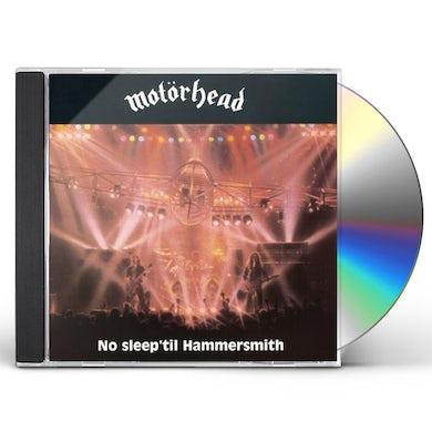 Motorhead NO SLEEP 'TIL HAMMERSMITH: DELUXE EDTION CD